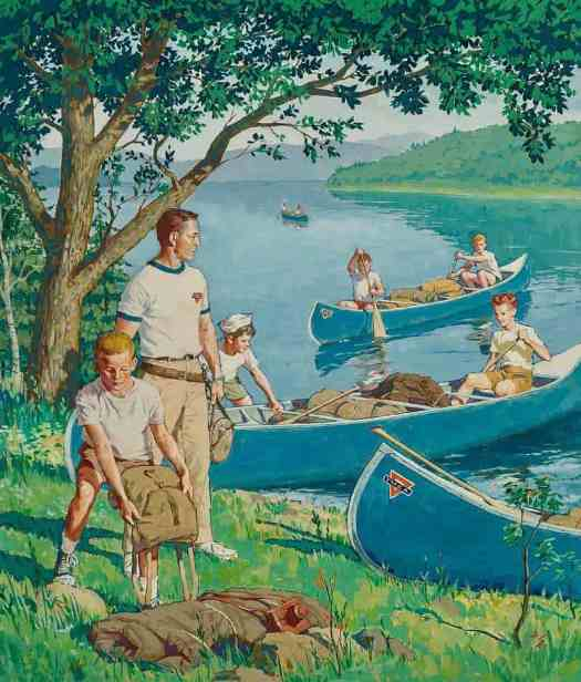 Amos Sewell YMCA kayaks
