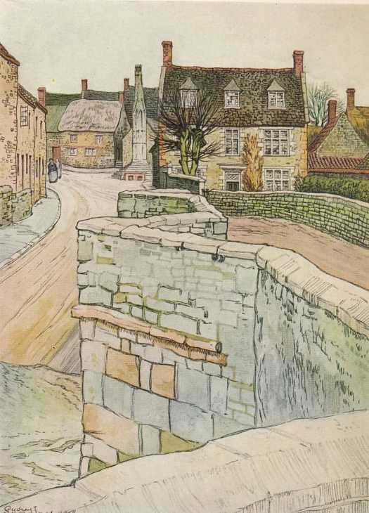 English Villages And Hamlets By Humphrey Pakington, Illustrated By Sydney R. Jones, 1934