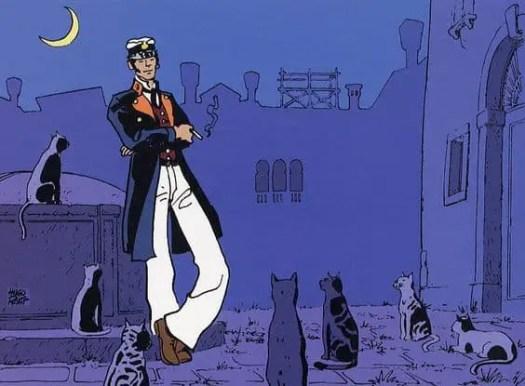 From Corto Maltese Fable of Venice (1977) Hugo Pratt (1927- 1995)