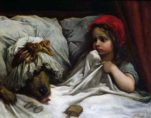 Gustave Dore - Little Red Riding Hood 1862