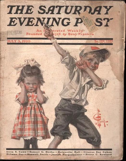 J. C. Leyendecker Independence Day illustration 1920