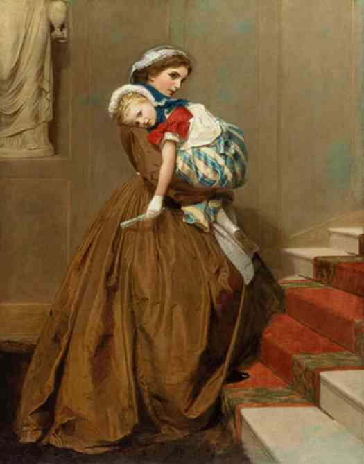 James Hayllar - Miss Lily's Return from the Ball