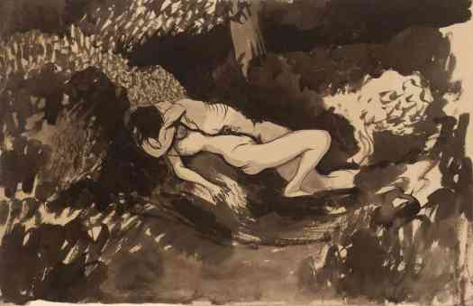Joan González Couple in the Undergrowth c.1900