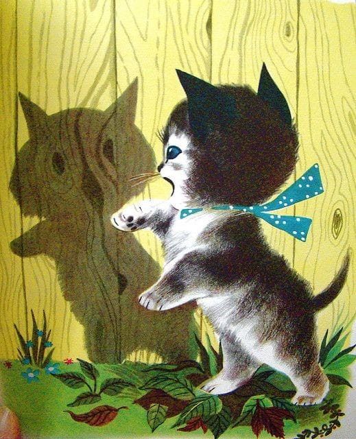 Katie Kitten by Kathryn Jackson c. 1949 by Alice and Martine Provenson