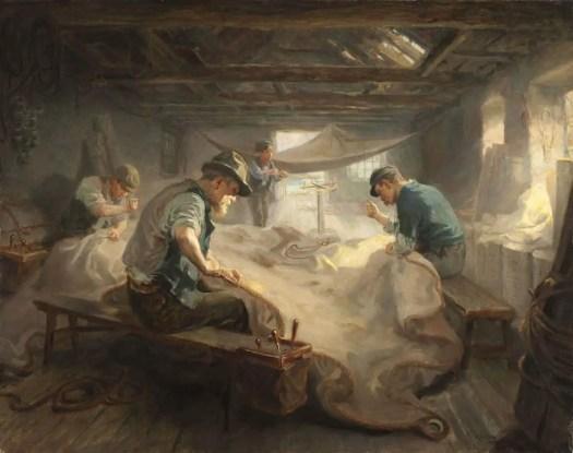 Ralph Hedley - The Sail Loft