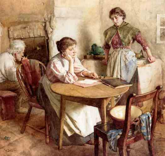Walter Langley - Thoughts Far Away
