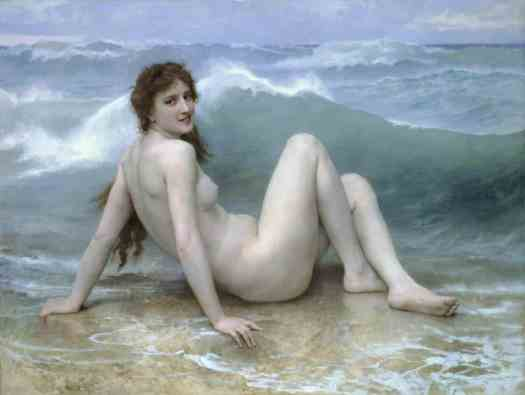 William Bouguereau - The Wave 1896