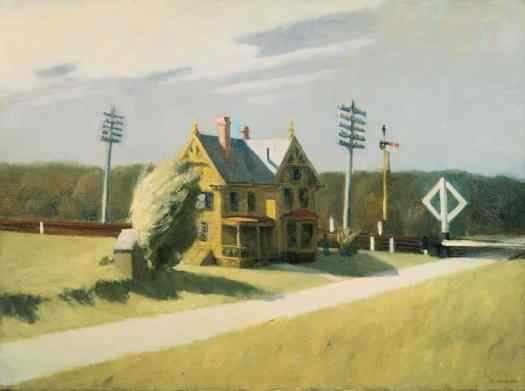 Edward Hopper (1882–1967) - Railroad Crossing II