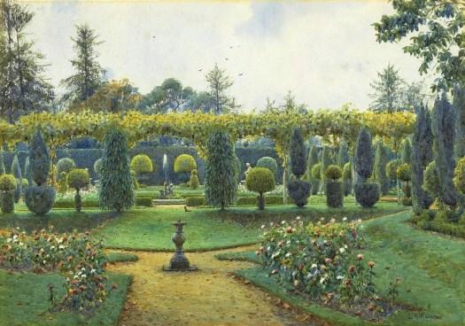 Ernest Arthur Rowe - Grey Day, Brockenhurst, Hampshire