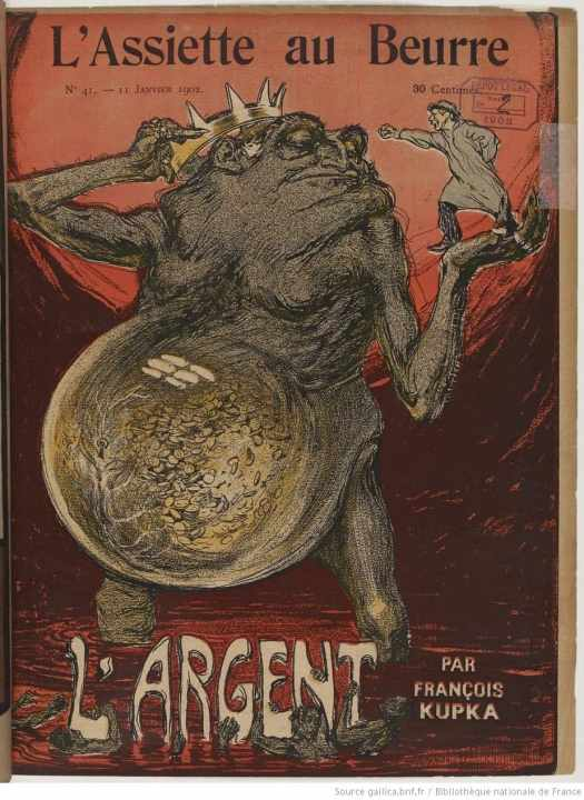 Ogre on cover of L'Assiette au Beurre