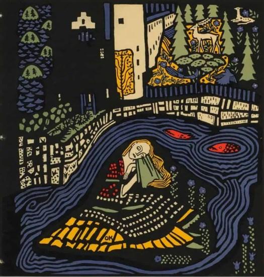 Oskar Kokoschka, Sleeping Woman (Schlafende Frau)