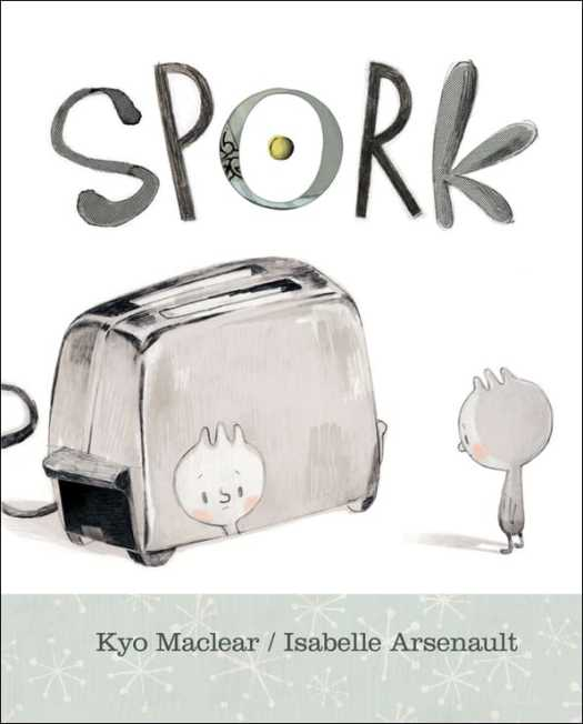 One of Spork's parents is a fork, the other is a fork. He doesn't feel he fits anywhere. He first tries to be more spoony, then more forky. When a new baby joins the household he finally gets taken out of the drawer for some use and is happy being himself.