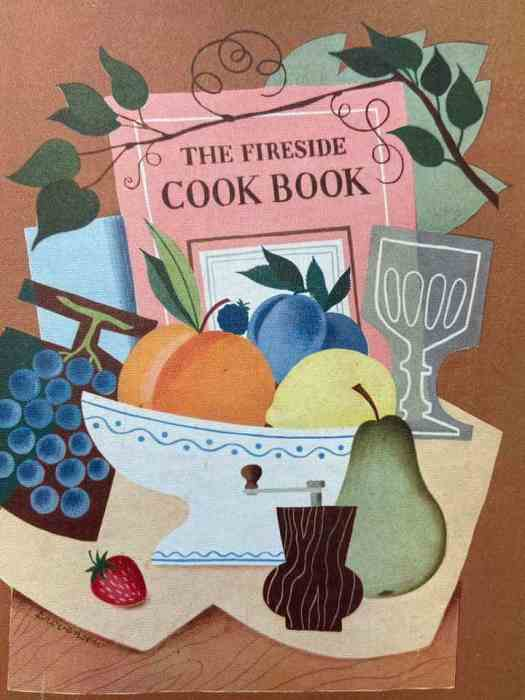 The Fireside Cookbook by James Beard. Illustrations by Alice and Martin Provensen. Simon and Schuster, 1949