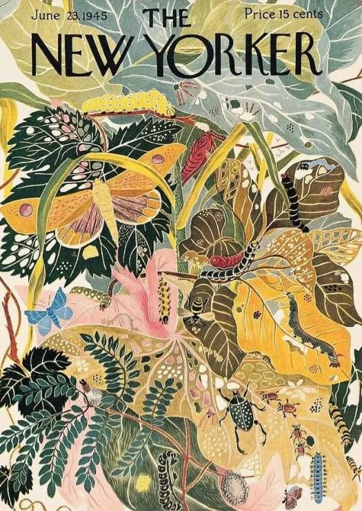 by Ilonka Karasz (1896-1981) 1945 insects