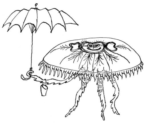 DE DIERKUNDIGE DICHTOEFENINGEN VAN TRIJNTJE FOP (1955) Bertram umbrella