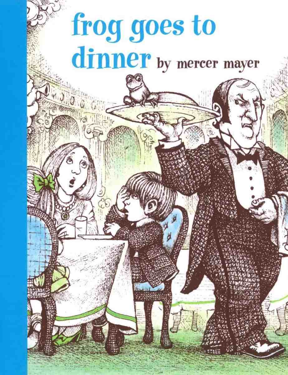 Frog Goes To Dinner by Mercer Mayer cover