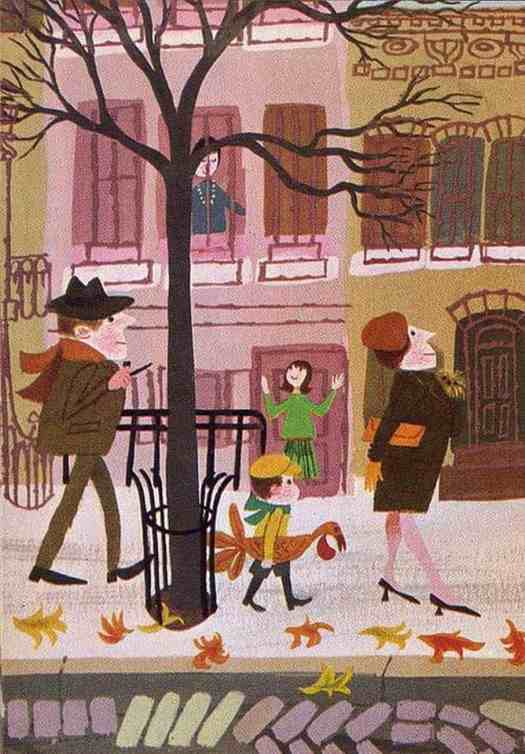 Mr. Jollys sidewalk market, 1963 illustrator, Laura Jean Allen