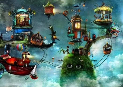 Alexander Jansson Swedish artist, whimsical