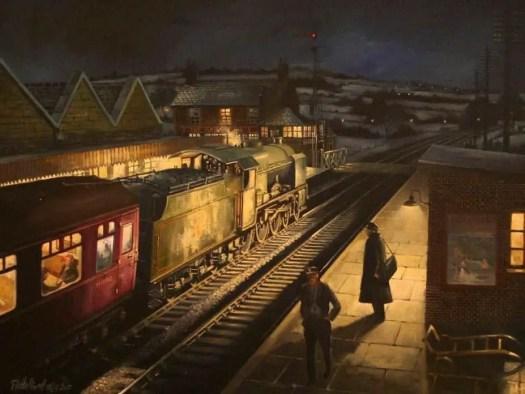 David Halliwell 'Lamplight'