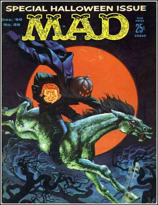 MAD Magazine Special Halloween Issue, 1960