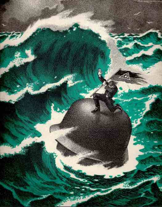 NACHTMERRIE OVER NEDERLAND (1945) L.J. Jordan the tidal wave