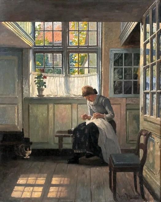 Swedish painter, Henrik Nordenberg (1857-1928)