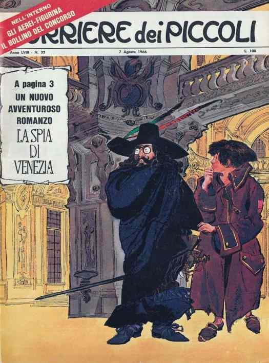 'The Spy of Venice' Artist Dino Battaglia, 1966