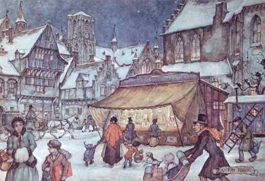 Anton Franciscus Pieck (19 April 1895 – 24 November 1987) European market winter Christmas
