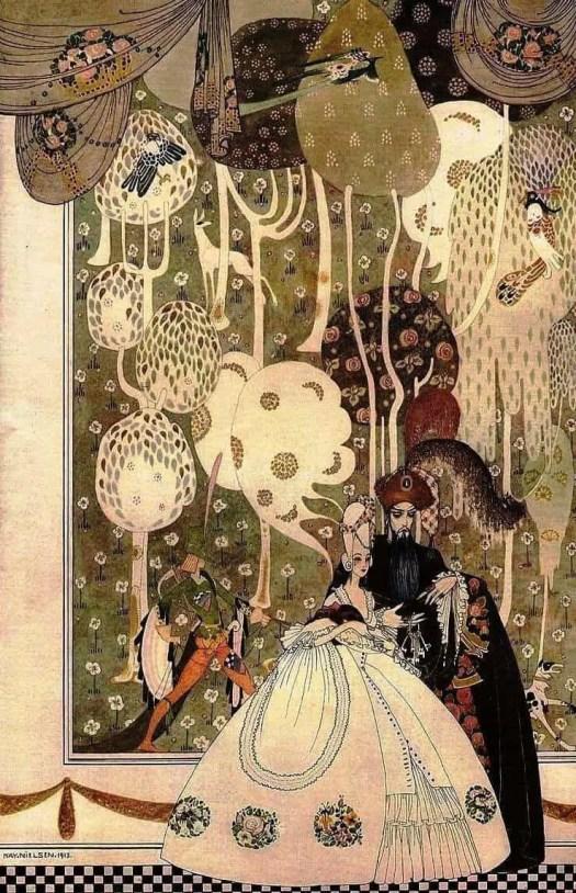 Bluebeard, Kay Nielsen, 1914