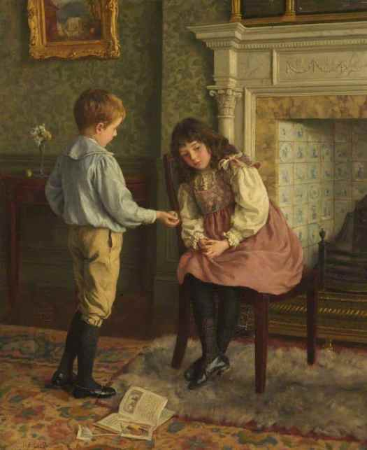 Charles Haigh Wood - The Peace Offering ca. 1885