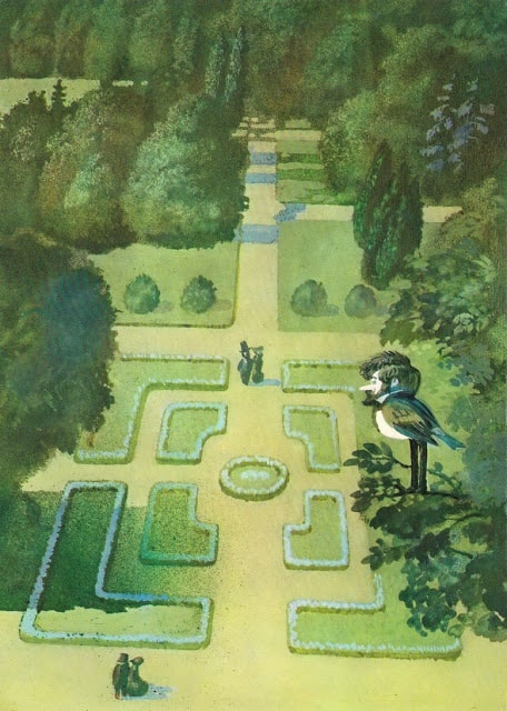 Janusz Stanny - The Tales of Hans Christian Andersen traditional garden