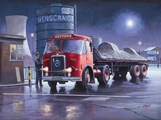 Mike Jeffries night lorry