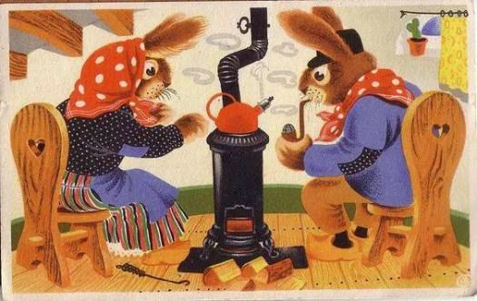 Postcard by Willy Schermele (1904-1995)