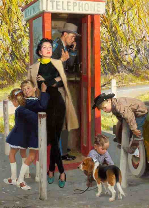 Tom Lovell (1909–1997) - The Blue Hour