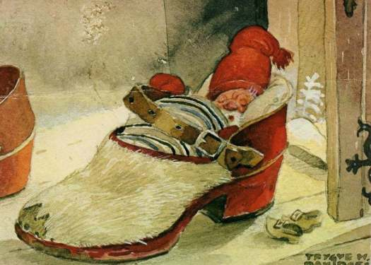 Trygve Marentius Davidsen, Norwegian illustrator (1895) shoe