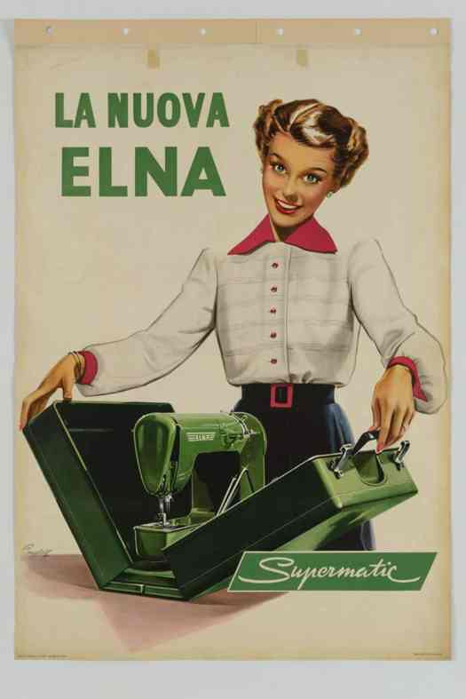 by Marcus Campbell, 1952, sewing machine