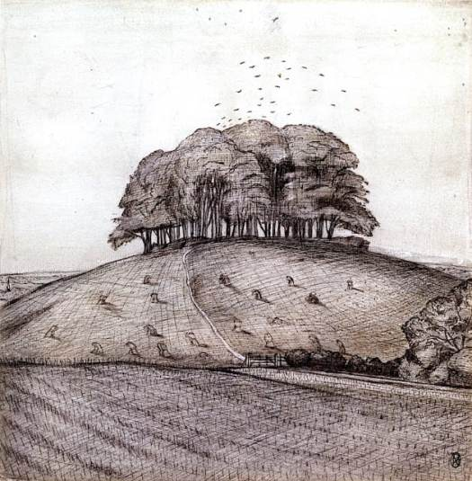 1912 The Wood on the Hill, Paul Nash, UK
