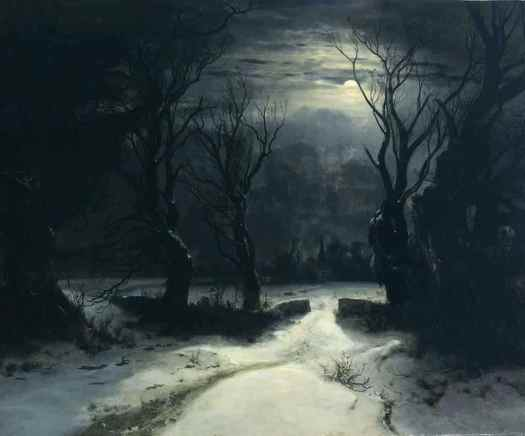Alexandre Calame (1810 - 1864) The Winter, 1851