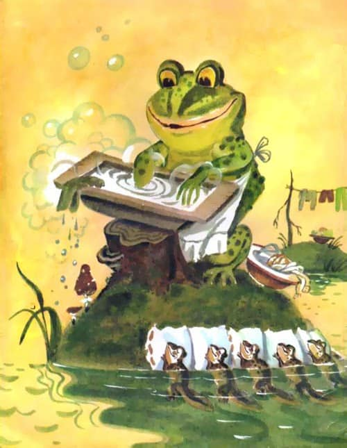 Anatoli Michailovich Eliseev, Story of the stupid mouse frog washing