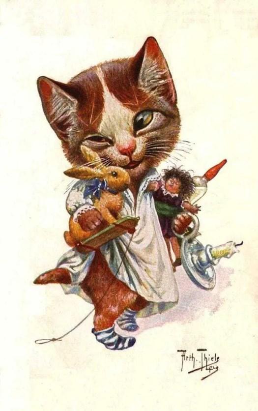 Arthur Thiele (1860-1936) cat