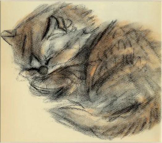 Clare Turlay Newberry (1903-1970), c. 1937 cat