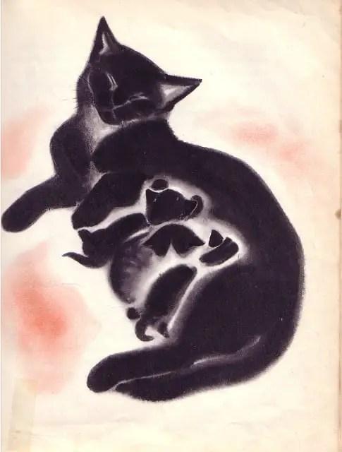 Clare Turlay Newberry (American, 1903-1970) cat kittens