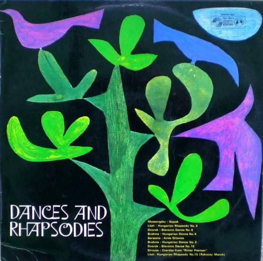 'Dances and Rhapsodies' concert hall