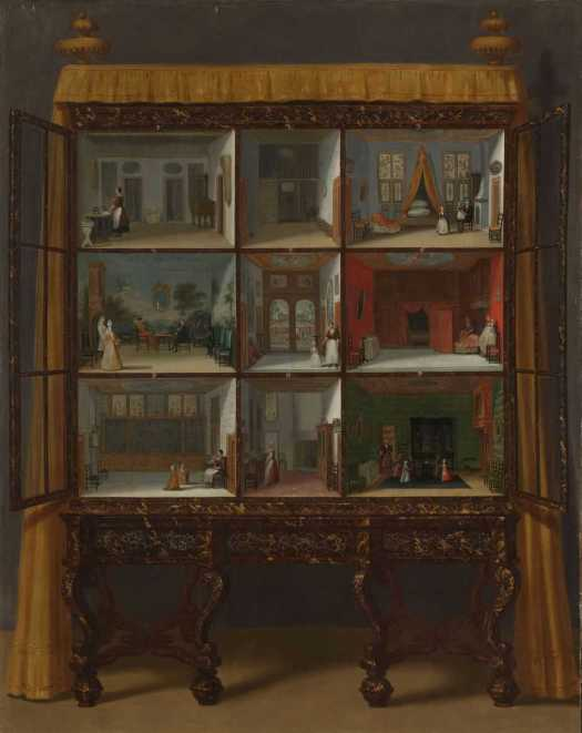 Dolls' House of Petronella Oortman, Jacob Appel (I), c. 1710