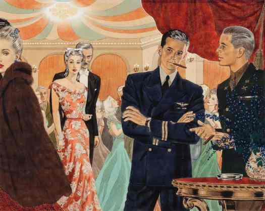 Edwin Georgi (1896-1964) party