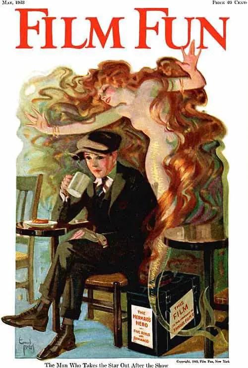 Film-Fun-Magazine-Cover-art-by-Enoch-Bolles-1923-erotic-fantasy