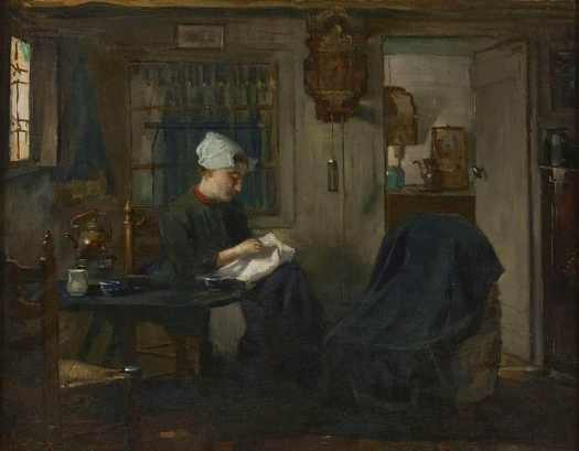 Floris Arntzenius, (1864 - 1925) Daily chores