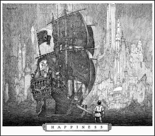 Franklin Booth (1874-1948) Master of Pen ship city