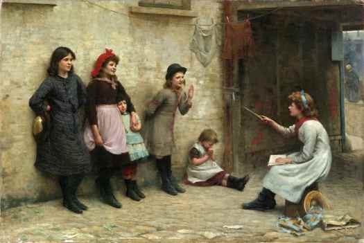 Frederick Brown - Candidates for Girton 1884 play