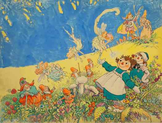 JOHNNY GRUELLE from Raggedy Ann and the Deep Woods 1930